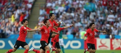 한국축구, 독일을 잡고 늪에서 벗어나