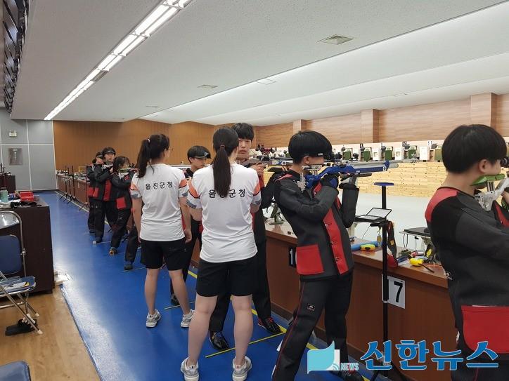 사격도 금메달 . 봉사활동도 금메달, 울진군 사격팀