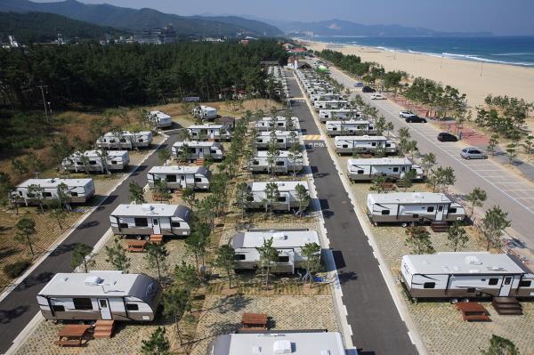 동해시, 망상 오토캠핑리조트, 단체 관광객 유치로 지역 경제 활성화