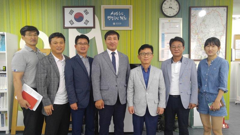 김용성의원,남양주상담소에서 2018체육진흥 사업위한 간담회