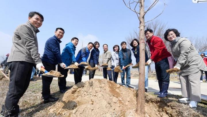 광주시, 제74회 식목일 나무심기 행사 개최