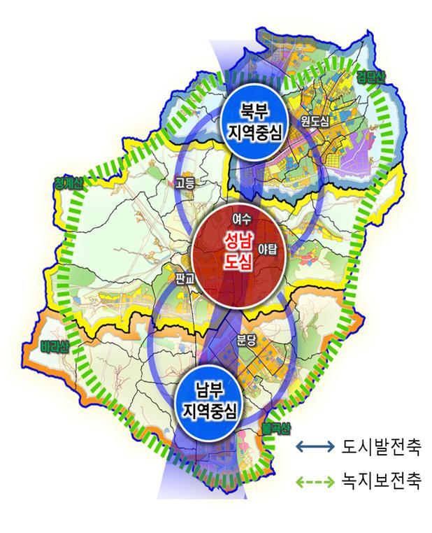 도, 2035년 성남 도시기본계획 승인…인구 ..