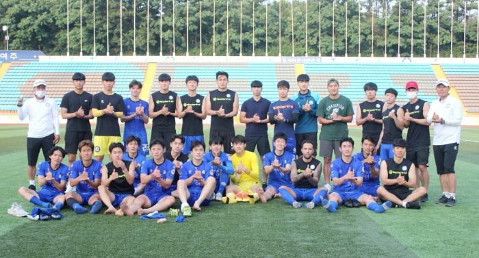여주시민축구단, 진주시민축구단과 격돌 '짜릿한 승리'