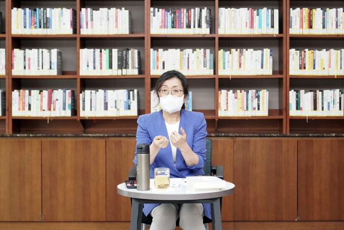 은수미 성남시장, 직원들과 격식없는 소통 '브..