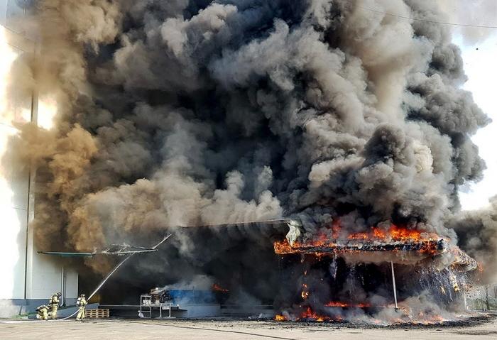 최근 5년간 도내 창고시설 화재원인 '부주의' 최다 …1만㎡ 초과 대형냉
