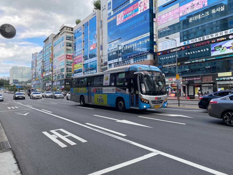 용인시 동백지구~교대역 운행 M버스 신설 확정