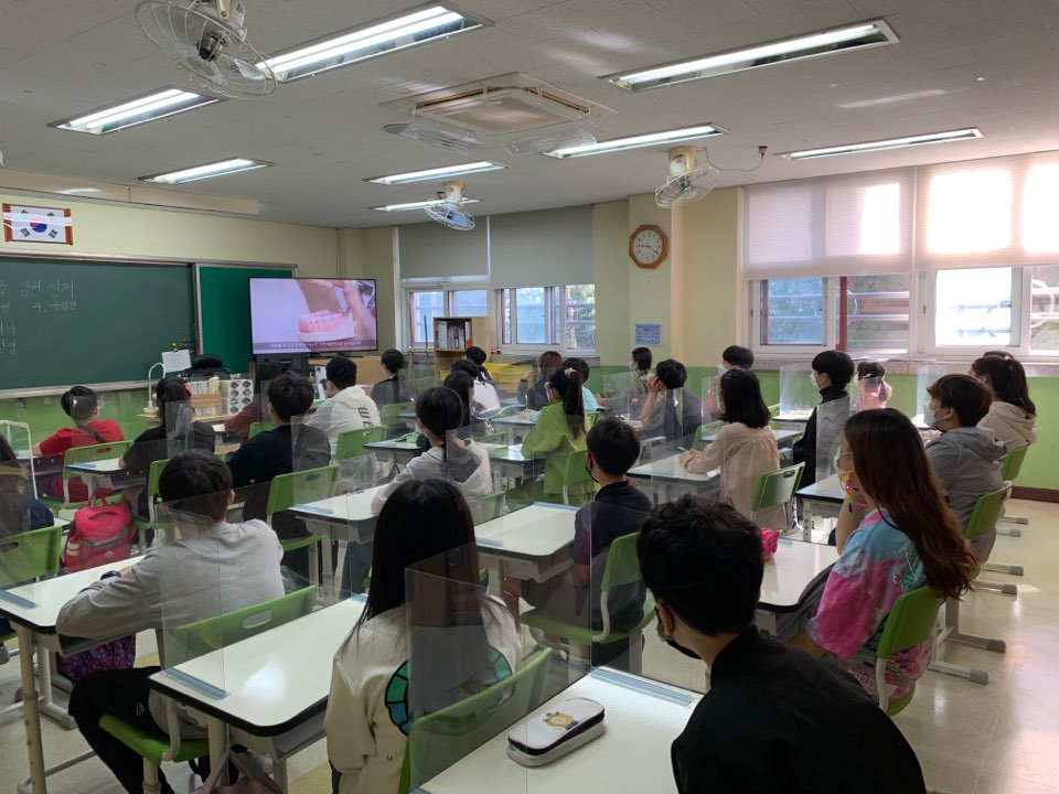 초등 6학년생 8000명 대상 온라인 구강보건교육