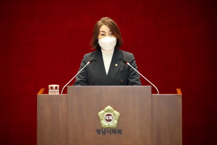 성남시의회 제258회 임시회 제2차 본회의 김선임 의원 5분발언