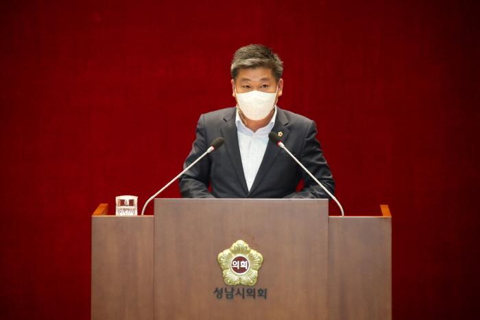 성남시의회 제258회 임시회 제2차 본회의 최현백 의원 5분발언