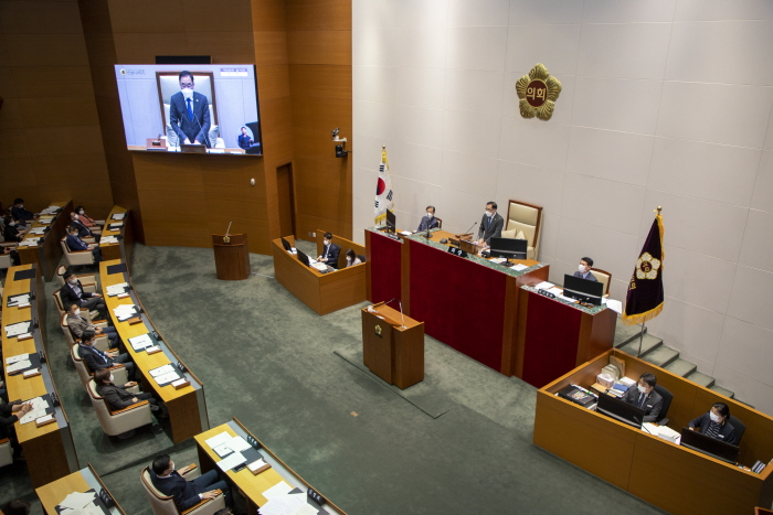 성남시의회, 제258회 임시회 마무리