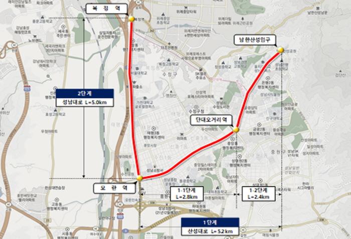 '성남시 S-BRT 사업', 제4차 대도시권 ..